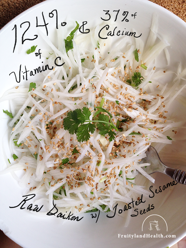 Asian Daikon Slaw